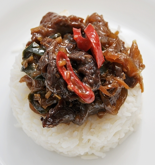 Beef with Lemongrass & Chiles Stir Fry - Fuss Free Cooking