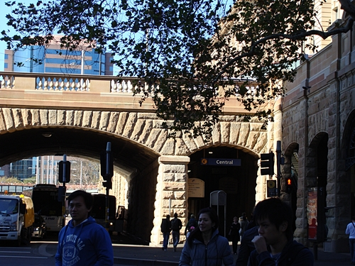 June 2010 Sydney Trip Part 1 (Central Station, Hyde Park)