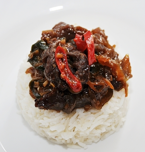 Beef with Lemongrass & Chiles Stir Fry