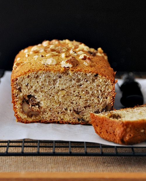 College Guys' Banana & Walnut Bread – by Adam