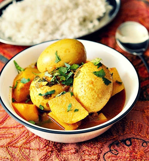 Egg & Potato Curry