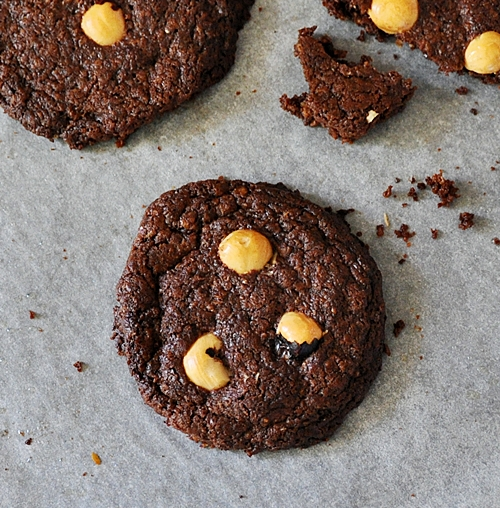 Coconut, Chocolate & Hazelnut Cookies
