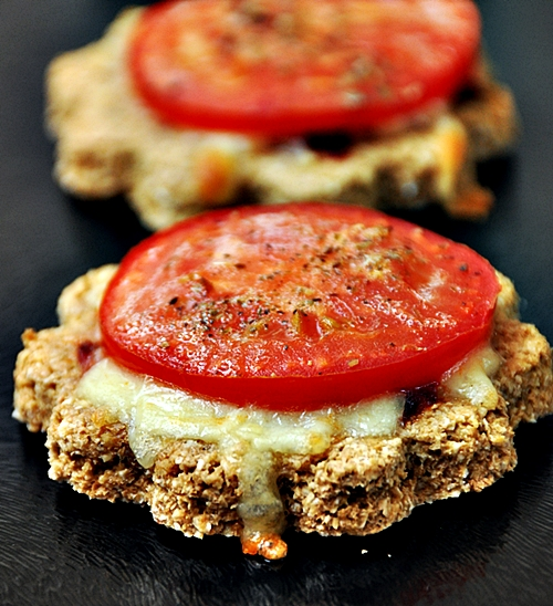 Mini Pizzas with Homemade 'Oaty' Crust