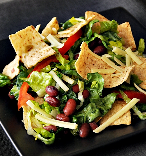 Corn Chips Salad - Fuss Free Cooking
