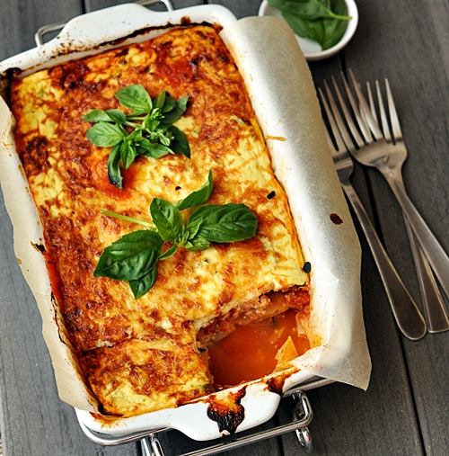 Mixed Capsicum & Ricotta Lasagna [Meat Free] & San Remo Competition