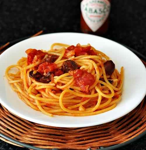 Spaghetti Alla Puttanesca, sort of