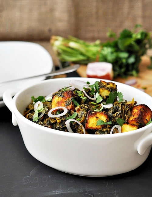 Palak Paneer (Spinach & Cheese Curry)
