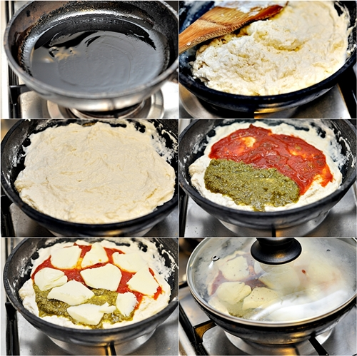 stovetop pizza fuss free cooking