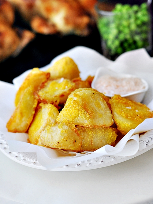 Donna Hay's Polenta-Crusted Potatoes