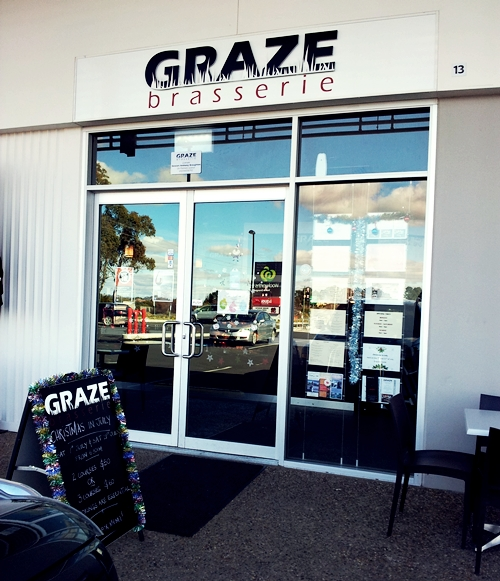 Graze Brasserie, North Orange (NSW)