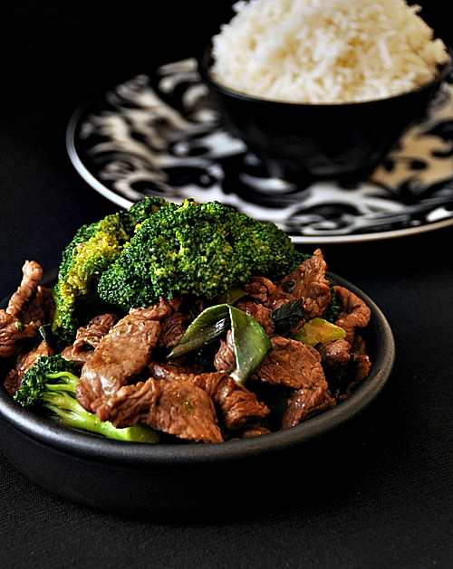 Ginger & Shallot Beef with Broccoli