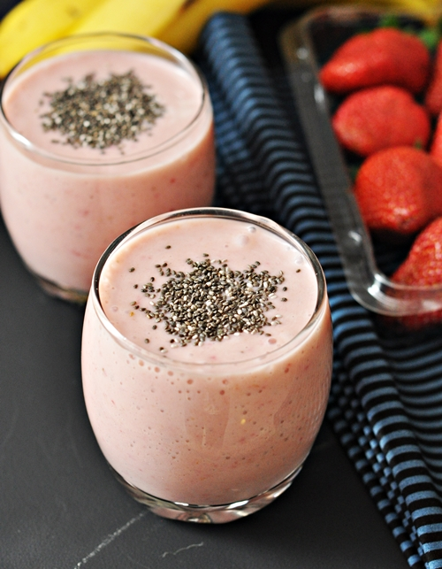 Strawberry Banana Chai Smoothie Recipes — Dishmaps
