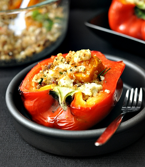 Stuffed Peppers {My Leftover Makeover}