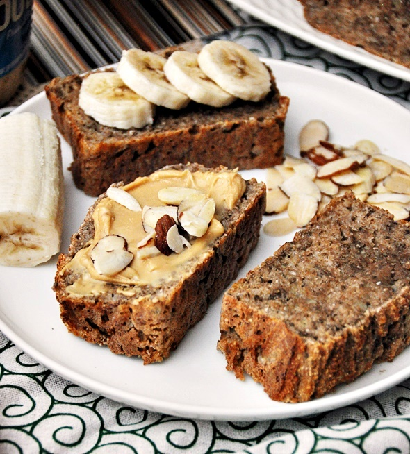 [Recipe] 5 Ingredients Spelt & Chia Seeds Banana Bread, Vegan Friendly