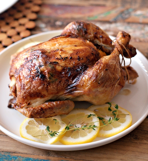 a12 Lemon & thyme with Lurpak Butter-Basted Roast Chicken