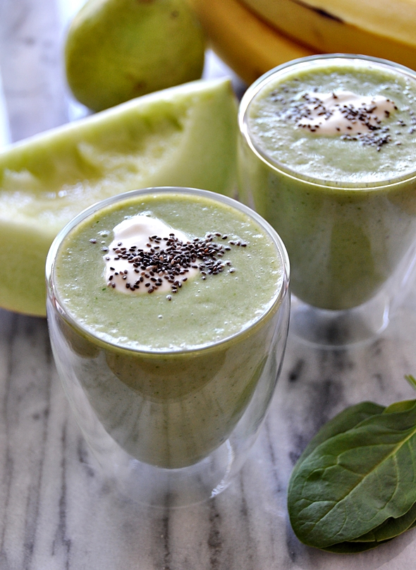 Delicious Green Smoothie a1
