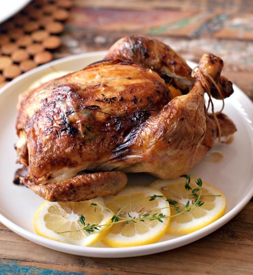 Lemon & thyme with Lurpak Danish Butter-Basted Roast Chicken