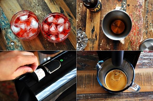 Nespresso Napoli Bitter Cocktail a13