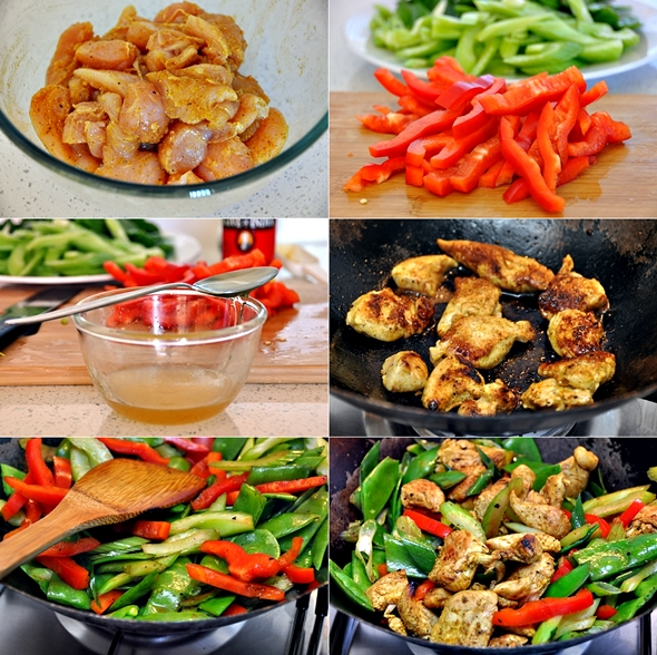 a13 Honey, Lime & Curry Chicken Stir Fry