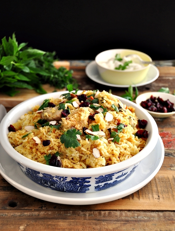 chicken biryani (using a rice cooker)a22
