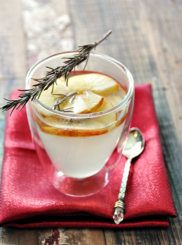 "Apple & Rosemary Infused ""Tea"" a5"