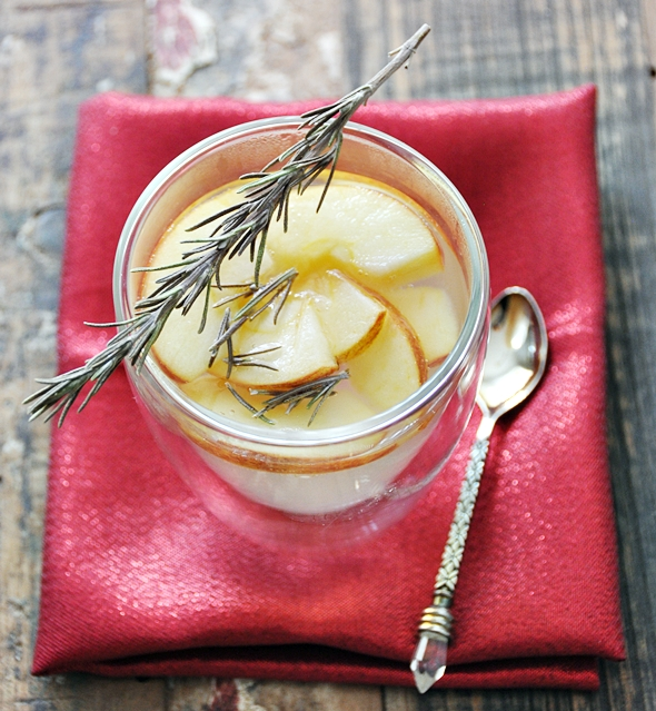 "Apple & Rosemary Infused ""Tea"" a6"