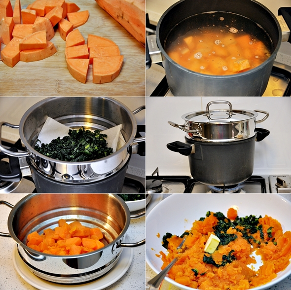 Sweet Potato Colcannon (Irish Style Mash with Kale) a11