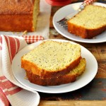 Lemon, Poppy Seed & Olive Oil Loaf Cake