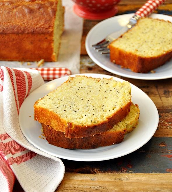 Lemon, Poppy Seed & Olive Oil Loaf Cake