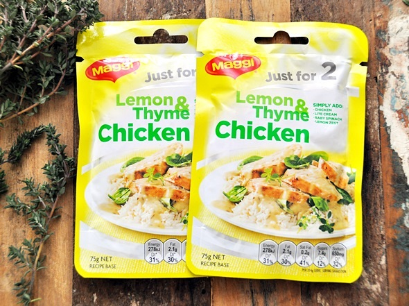 Lemon & Thyme Chicken & A Giveaway Maggi Just for 2 a4