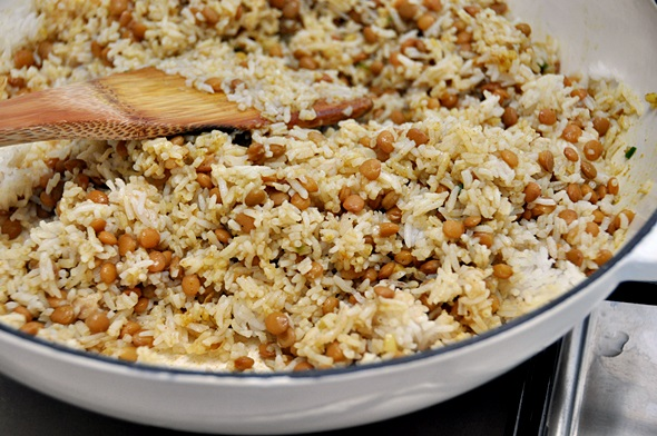 cheat curried rice & lentil pilaf a7