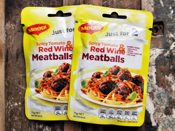 Simple Dinner for Two: Spicy Tomato & Red Wine Meatballs a5