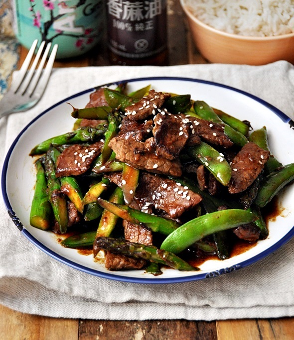 Stir-Fried Beef with Five Spice, Hoisin Sauce & Vegetables Recipe  a1