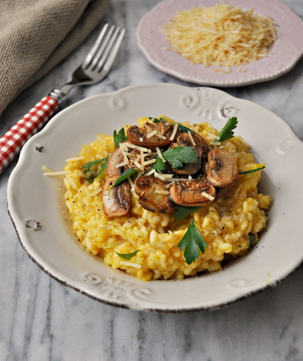 Pantry Pumpkin Risotto a2