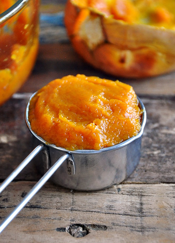 Make your own fresh pumpkin puree  a3