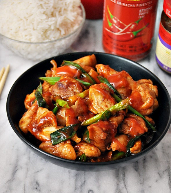 Sriracha & Hoisin Glazed Chicken  a7
