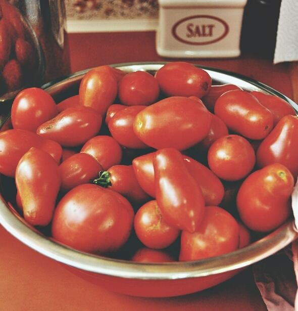 Making Tomato Passata At Home