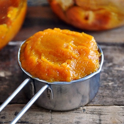 Make Your Own Fresh Pumpkin Puree