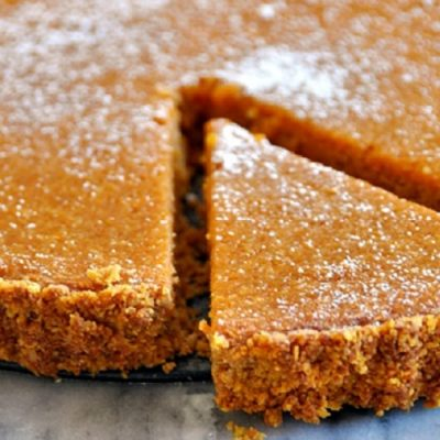 Pumpkin & Coconut Tart | A Gluten Free Baking Recipe