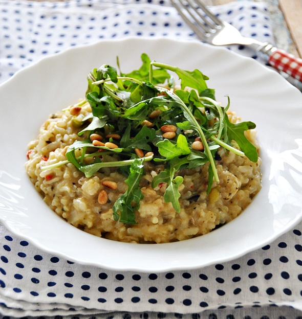 First Impression: Pitango Risotto Chicken & Garlic