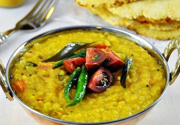 [Recipe] Red Lentil (Dhal) Curry, Vegan Friendly, Gluten Free
