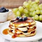 Blueberry Yoghurt Pancakes & $100 Groupon Voucher Giveaway