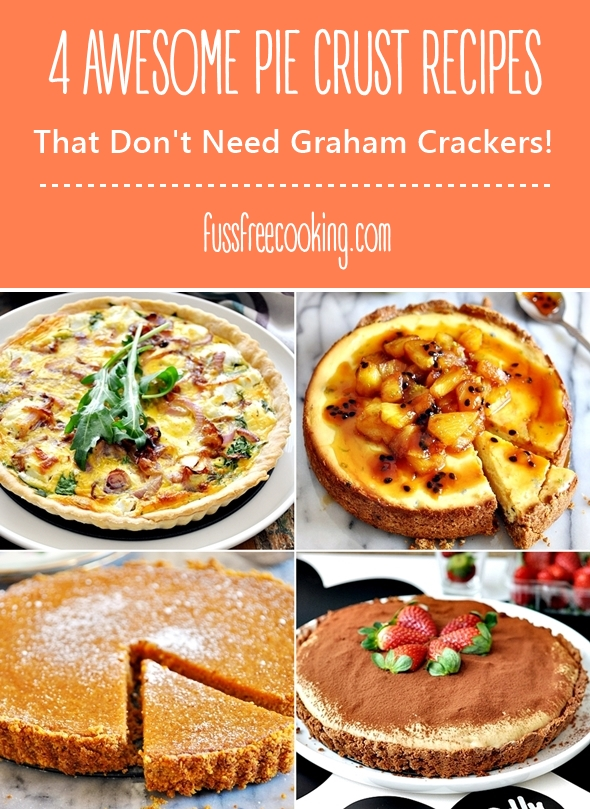 4 Awesome Crust Recipes That Do Not Need Graham Crackers