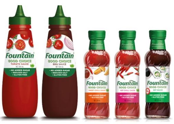 Fountain Good Choice Sauces