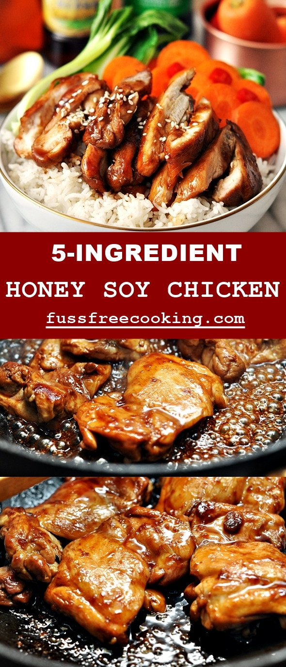 Honey Soy Chicken - Pinterest