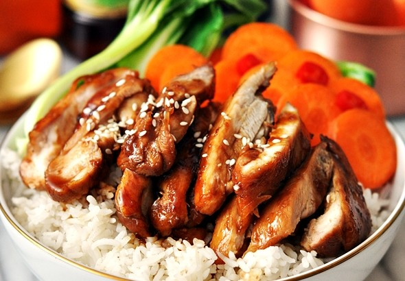 5 Ingredients Honey Soy Chicken (A Gluten Free Recipe) | www.fussfreecooking.com