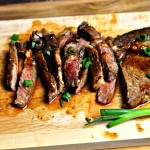 Ginger & Garlic Soy Caramelised Steaks | www.fussfreecooking.com