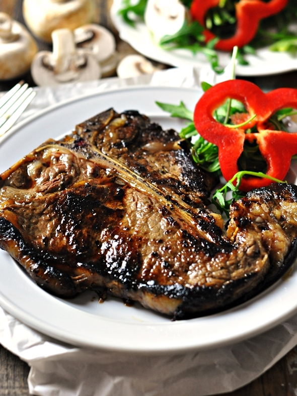 Steak with Coffee & Soy Marinade