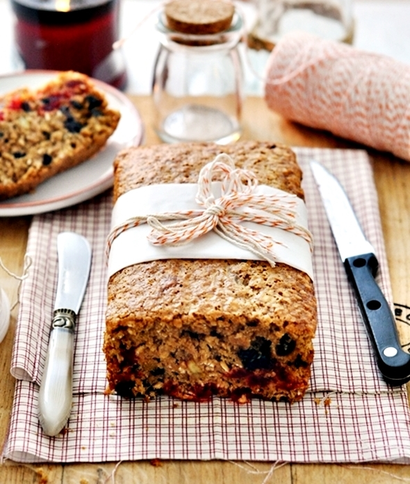 5 cups christmas fruit loaf