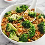 Broccoli & Egg Fried Rice 4 - fussfreecooking.com